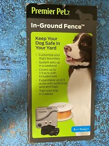 Premier Pet In-Ground Fence GIG00-16919. NEW