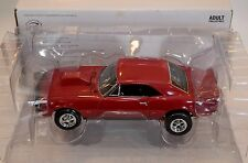 Ertl 1/18 Authentics 1967 Chevy Camaro SS Drag Car RED #29592 American Muscle 67