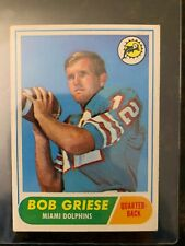 1968 Topps Football #196 BOB GRIESE ROOKIE.....EX