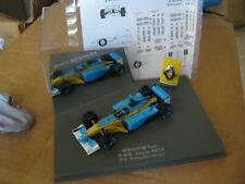 "RENAULT R23 F1 FERNANDO ALONSO 1/43 UNIVERSAL HOBBIES ""PRESENTATION"" 2003"