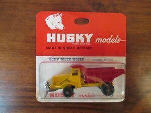 Corgi Husky - Dump Truck/Dozer - Number 16. Original and boxed.