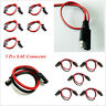5 x Car Off Road SUV Quick Disconnect Wire Harness 2 Pin SAE Connector 18 Gauge