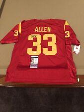 Marcus Allen Signed Custom USC Trojans Jersey w/ JSA COA Heisman NCAA NFL