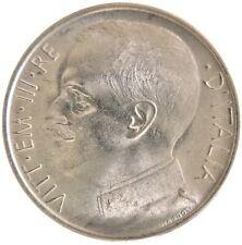 Moneta 50 centesimi 1920 Leoni Vittorio Emanuele III Regno d'Italia