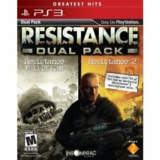 Resistance Greatest Hits Dual Pack PlayStation 3 Very Good 6Z
