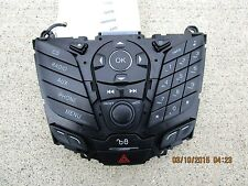 11 - 14 FORD FOCUS S SE SES SEL RADIO CD PLAYER AUX PHONE CONTROLLER FACE PLATE