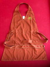 1976, McDonald's, Ladies Employee Brown Apron / Uniform (Scarce / Vintage)