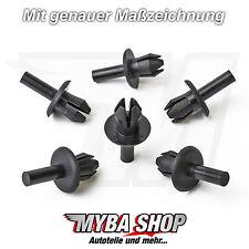 10x Verkleidung Spreizniete Befestigung Clips Porsche Cayenne N0385494