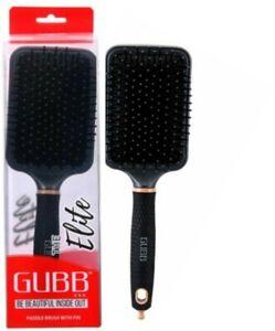GUBB USA (Elite) Straightener Paddle Hair Plastic Brush With Pin