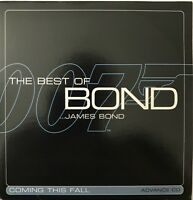 THE BEST OF BOND... JAMES BOND - COMING THIS FALL - [ CD ALBUM PROMO ]