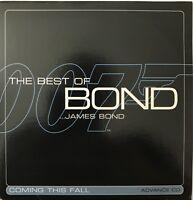 THE BEST OF BOND... JAMES BOND - COMING THIS FALL - [ CD ALBUM PROMO ]