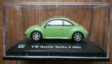 Cararama - Volkswagen New Beetle - Green - 1:72 Scale