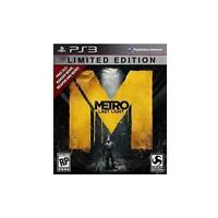 Metro: Last Light Limited Edition (Sony PlayStation 3, 2013) COMPLETE FAST PS3