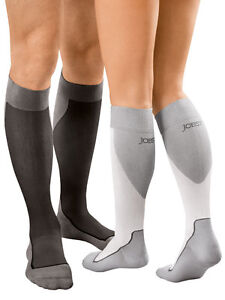 Jobst Sport Sock Knee High 20-30 MMHg Compression Support Mens Womens Run