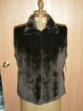 Sheared MINK Vest Reversible Leather Coat Gucci $6500