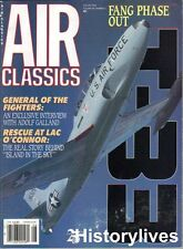 Air Classics Aug88 Luftwaffe Adolf Galland T-Bird T-33 Florida ANG Lac O'Connor