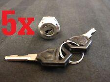 5x 5pcs Key Switch OFF-ON Lock metal toggle lock security KS-01 electronic a2