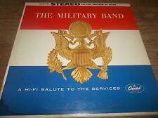 Felix Slatikin The Military Band Hi-Fi Salute To The Services LP VG+
