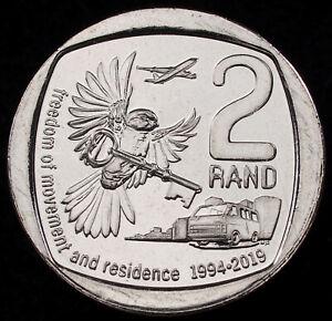 South Africa 2 Rand 2019 Freedom of Movement (GLIU-004C)
