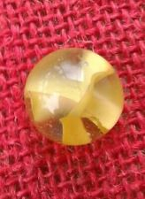 "3/4"" Vitro Agate Marble Yellow Catseye Shooter IN MINT CONDITION BEAUTIFUL..."