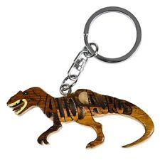Allosaurus Wooden Word Keychain