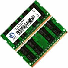 2x 2GB 4GB 8GB Lot Memory Ram 4 Toshiba Satellite  L500-02F  A350D-20F upgrade