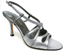 AMALFI Silver Pumps Size 8 Shoes Italy Heels or Sandals