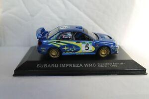 Subaru Impreza WRC New Zealand Rally 2001 R.Burns R.Reid 1:43 Diecast Car Model