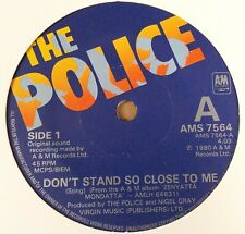 """The Police : Don't Stand So Close To Me : Vintage 7"""" Single from 1980."""