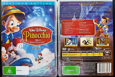 PINOCCHIO 70th Anniversary 2-Disc DVD Set Platinum Edition Disney oz seller