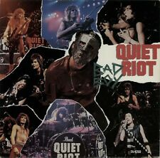 "Quiet Riot Bad Boy 1984 Reino Unido 3-track 12"" Single Vinilo Excelente Estado"