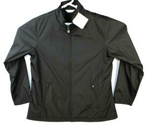 PING Golf Mens Large Full Zip Windbreaker Jacket Black Size Large New L