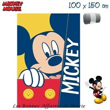 DISNEY - LIQUIDATION - Plaid polaire Mickey - Neuf avec étiquette