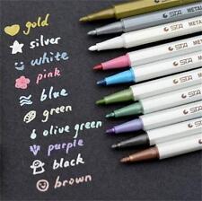 10pcs/lot Album Photo STA Metallic Color Pens Markers DIY ARTS & CRAFTS 10 Color