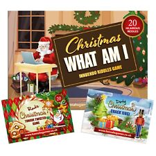 Rude Christmas Games SAVER PACK Xmas Adults Party Game Fun Adult Eve Box Fillers