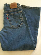 Boys Levi's 550 relaxed fit jeans size 12 reg 26x26 1/2 EUC