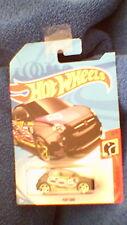 HOT Wheels-CARTA DEGLI STATI UNITI - # --- FIAT 500-Nero Bianco, Giallo e Viola