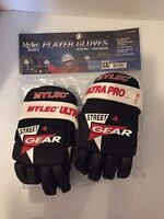 Mylec Ultra Pro Roller Hockey Player Gloves Size: Youth Medium