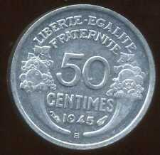 50 centimes 1945 B MORLON  ( SUP )  ( bis )