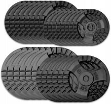 Hochwertige Gusseisen Tri-Grip Hantelscheiben Gewichtheben Krafttraining Workout