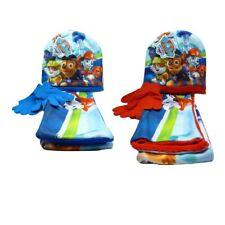 Paw Patrol Kinder Winter-Set mit Mütze, Schal und Handschuhe