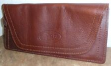 New Case Xx Gentleman's Genuine Leather Knife Roll Pouch #50246 Made in Usa