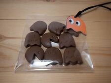 Mini ghosts/ pacman/halloween chocolates 5 bags(of 9 ).party bags//tag/ gift