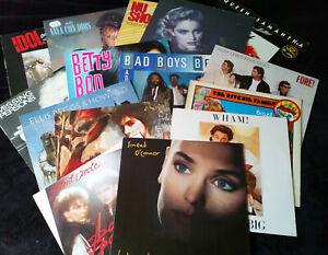 15 Lp's – POP 80's – BAD BOYS BLUE, ENYA, VAYA CON DIOS, SINEAD O'CONNOR
