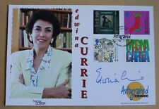 CITZENS' TALE 1999 AUTOGRAPHED EDITIONS FDC SIGNED BY POLITICIAN EDWINA CURRIE