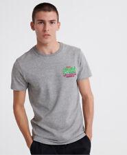 Superdry Mens Vintage Logo Authentic Fluro T-Shirt
