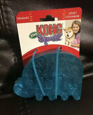 Kong Zoo Squeezz Large Elephant Squeaky Dog Toy