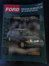 1981 - 1995 Ford Escort Mercury Lynx Chilton's Repair Manual