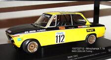 """MINICHAMPS 155722712 ,  BMW 2002  GS Tuning DRM 1972 """" Dieter Basche """" 1:18"""