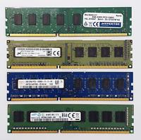 4GB DDR3 1600MHz Desktop PC RAM ~~ PC3-12800U Memory 240pin DIMM Non-ECC